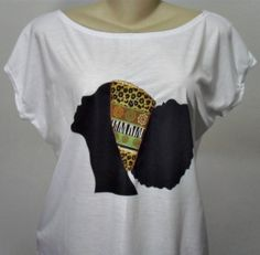 Camiseta Afro Customizada