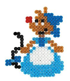 Disney Mouse Cinderella hama perler beads