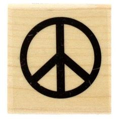 Single Peace Sign Rubber Stamp ** Check this awesome product by going to the link at the image.