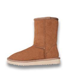 Pawj Short Boot - Chestnut