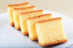 Receta de Bizcocho sueve y esponjoso de vainilla