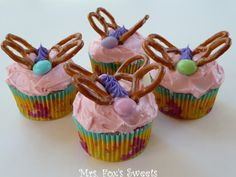 Ms. Fox's Sweets: Butterfly Cupcakes