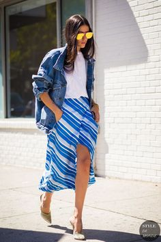 You can't beat a denim jacket for spring, and this season, boxy is the cool girl way to sport the look. Ideal for off-duty, simply throw an oversized denim number over any outfit to give it a relaxed feel.