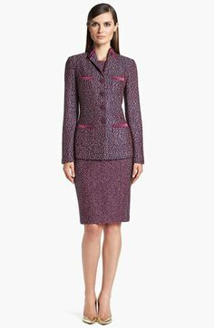 St. John Collection Jacket & Dress  available at #Nordstrom