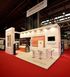 Exhibition stand at Fit Show - Swisspacer