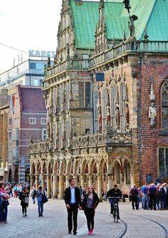 que ver en bremen : Antiguo ayuntamiento de Bremen en Alemania