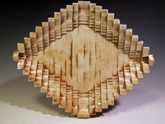 Lauren Young, wood fired ceramic plate, slip cast porcelain, 2011