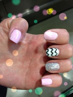 Shellac nails from #auraspa calgary