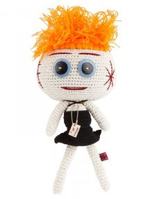 Love Vivienne Westwood? Get this amigurumi doll of her by Mua Mua.