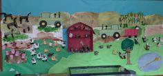 The cutest farm bulletin board.