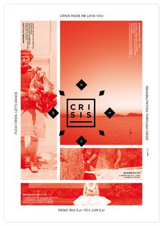 Crisis is a Greek word by Keik Bureau™, via Behance