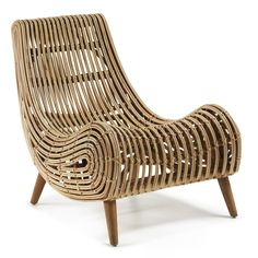 Buy Macon Solid Cane Rattan Accent Lounge Chair from LivingStyles for Australia wide delivery. Lounge chair in Natural finish rattan. Rattan Armchair, Rattan Furniture, Living Room Furniture, Furniture Design, Outdoor Furniture, Rattan Chairs, Swivel Chair, Vintage Armchair, Wooden Chairs