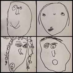 Inquiring Minds: Mrs. Myers' Kindergarten: Learning How To Slow Down And Look Closer Through Feelings And Self Portraits.