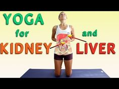 This video Yoga Postures For Kidney & Liver Health aims to introduce you to simple yoga poses that you can use to support both kidney and liver functioning ▶. Ashtanga Yoga, Vinyasa Yoga, Strengthening Yoga, 30 Day Yoga, Yoga Youtube, Easy Yoga Poses, Kidney Health, Qigong, Yoga Meditation