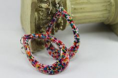 I Want Real Candy Sprinkles Loop Dangle Resin by tranquilityy, $5.99