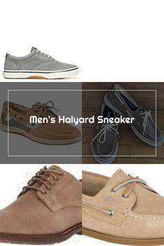 Sperry Halyard Sneaker Ash Grey Sperrys Men, Ash Grey, Sneakers, Tennis, Slippers, Sneaker, Shoes Sneakers, Women's Sneakers