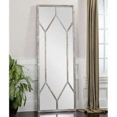Uttermost Sarconi Oversized Wall or Leaner Mirror - 28.75W x 78.75H in.