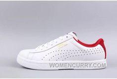 7cb4297f14d2 PUMA X COURT STAR CRFTD White Red Online