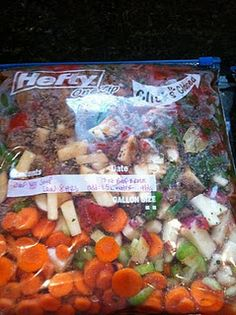 Awesome Freezer Crock Pot Meals