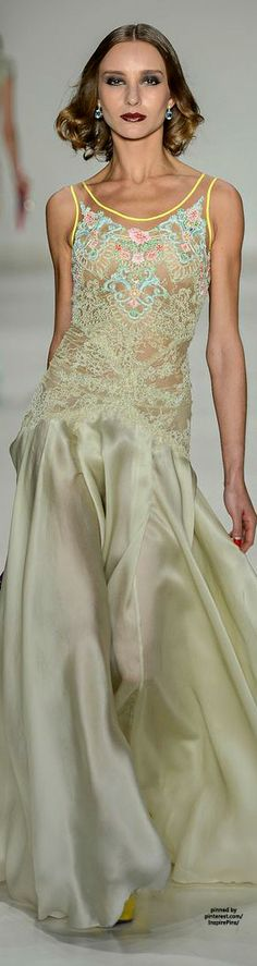 Samuel Cirnansck SS2015// I Love this dress and the color is perfect..