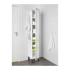 LILLÅNGEN High cabinet 1 door IKEA The shallow sink cabinet is perfect where space is limited.