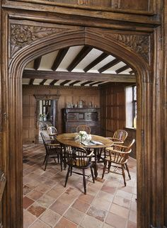 Picture perfect moated manor house in Suffolk is up for sale This picture perfect moated manor house is rooted in medieval history English Manor, English House, English Interior, Medieval Houses, Tudor Style, House Inside, Beautiful Homes, House Plans, House Design