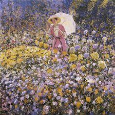 The Flower Garden. Frederick Frieseke