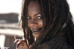 """Swamp Witch Wilma: An elderly quadroon who lives in a swamp.   Naomi Harris from """"Pirates of the Caribbean"""" would be perfect for the role of The Swamp Witch with a little make up to make her even older. She certainly has the accent and voice for it."""