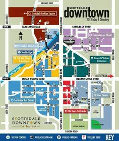 How To Shop Scottsdale Fashion Square Squares And Destinations - Scottsdale fashion square map
