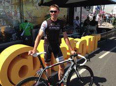 Le Tour de France @letour .@thejensie on @letour #TDF