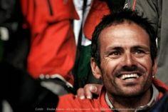 Franck Cammas, vainqueur de la VOR 2012 par E Allaire   #VolvoOceanRace #Lorient #Victory  www.ScanVoile.com
