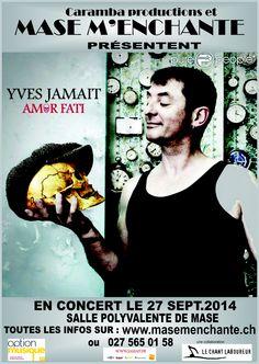 Yves Jamait en concert www.jamait.fr