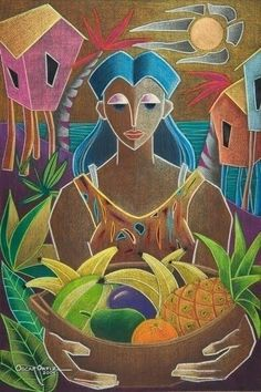 Choose your favorite puerto rico paintings from millions of available designs. All puerto rico paintings ship within 48 hours and include a money-back guarantee. Caribbean Art, Caribbean Culture, Muse Art, Tropical Art, Paintings I Love, Puerto Rico, American Art, Sculpture Art, Photo Art