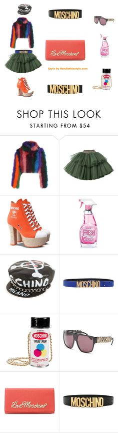 """""""Moschino on Moschino 💗 Happy Saturday!"""" by handlethisstyle ❤ liked on Polyvore featuring Moschino and Love Moschino"""