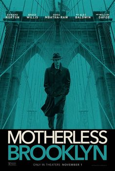 Movie Trailers - Motherless Brooklyn - Trailer: Lionel Essrog (Edward Norton), a. - Movie Trailers – Motherless Brooklyn – Trailer: Lionel Essrog (Edward Norton), a lonely private detective living with Tourette… – View More - Bruce Willis, Leslie Mann, Alec Baldwin, Charles Manson, Bryan Cranston, Hindi Movies, Stephen Adly Guirgis, Quentin Tarantino, Poster
