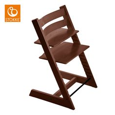 We found a Tripp Trapp for little money, second hand, I'll sand and stain it in a darker tone...
