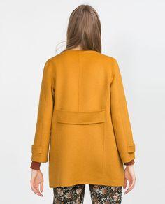HAND MADE COAT-Coats-Outerwear-WOMAN | ZARA Ireland