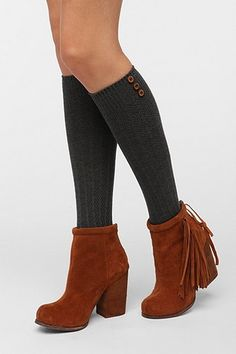 Buttoned-Up Knee-High Sock 2 for $20