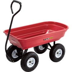 Shop 39 Wagons + Yard Carts at Northern Tool + Equipment. Browse a variety of top brands in Wagons + Yard Carts such as Strongway, Farm-Tuff, and Bannon from the product experts. Garden Wagon, Wheelbarrow Garden, Heavy Duty Wheelbarrow, Yard Cart, Lawn And Garden, Home And Garden, Pull Wagon, Patio Diy, Best Led Grow Lights