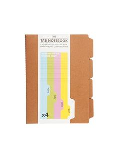 The Tab Note Book Set