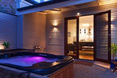 Taking a break and sitting in a hot tub might just be the stress reliever you need.