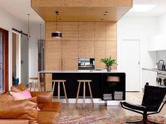 Wood wall | dinning room