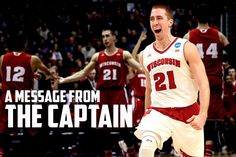 Captain America - Josh Gasser on the Badgers, post March Madness 2015.