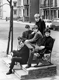 Rolling Stones, 1962. Photograph by Philip Townsend.