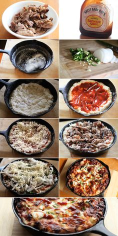 BBQ Pizza by Daxs Phhillips, simplecomfortfood #Pizza #BBQ