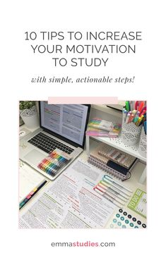 study motivation tips emmastudies student blogger