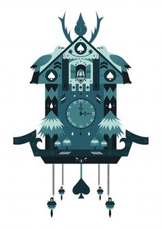 Cuckoo Clock illustration by Liam Smith
