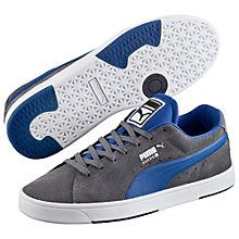 The Suede is arguably our most iconic sneaker. Born in the late '60s as a basketball warm-up shoe, it hit new levels of fame during the '90s day of b-boys and hip hop beats. Now, our designers have given the classic silhouette a new spin. Introducing: the Suede S, complete with fresh good looks, cleaner lines, and skate-inspired features (a padded tongue for cushioning, a removable foam footbed, and iced areas at the outsole for extra durability) for everyday wearing and style.  Features…