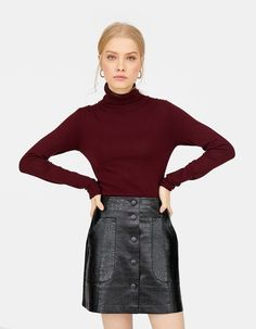 6629bfe68d Polo neck sweater - Knitwear