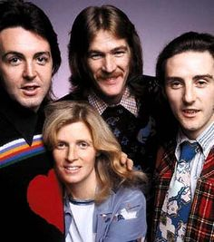 Early Aug 1971 -- Paul McCartney formed a new band called Wings. Joining McCartney in the group were Denny Laine, formerly of The Moody Blues, Denny Seilwell and Linda McCartney